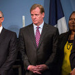 Dennis Walcott Michael Bloomberg and Roger Goodell Press Conference