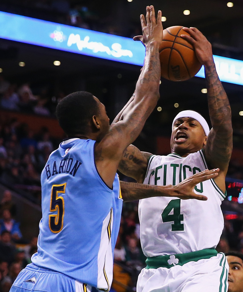 Isaiah Thomas And Will Barton Photos Photos