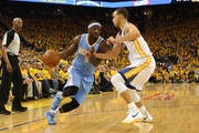 Ty Lawson and Stephen Curry Photos Photo