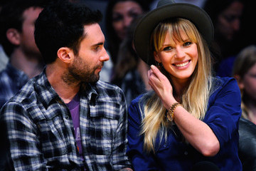Adam Levine Anne V Denver Nuggets v Los Angeles Lakers