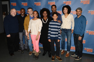 "Denzel Washington ""Raisin In The Sun"" Cast Press Preview"