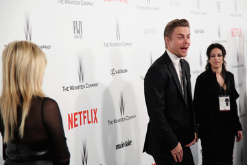 Derek Hough The Weinstein Company and Netflix Golden Globes Party — Part 2