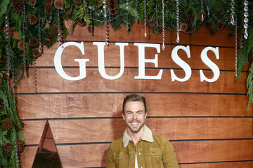Derek Hough GUESS Holiday 2018 Event