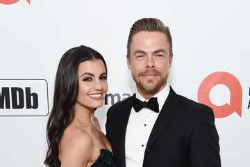 Derek Hough 28th Annual Elton John AIDS Foundation Academy Awards Viewing Party Sponsored By IMDb, Neuro Drinks And Walmart - Red Carpet