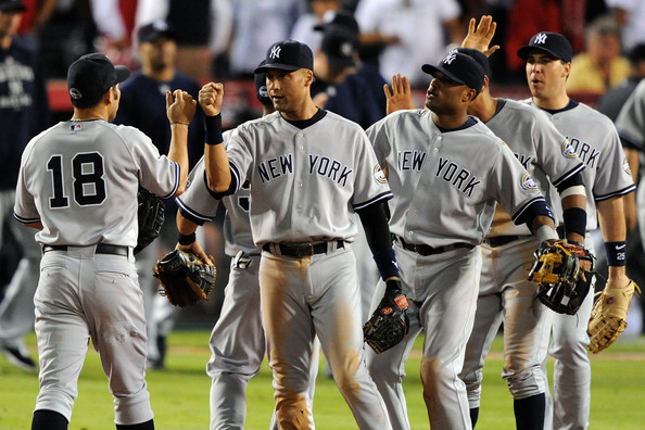 New York Yankees v Los Angeles Angels of Anaheim, Game 4 []