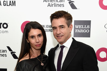 Dermot Mulroney Arrivals at the Elton John AIDS Foundation Oscars Viewing Party — Part 3