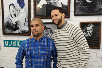 Deron Williams GQ Barber Shop Grand Opening