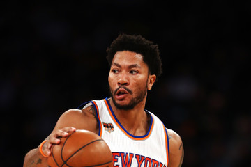 Derrick Rose Toronto Raptors v New York Knicks