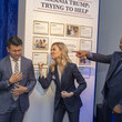 Desi Lydic 'The Daily Show With Trevor Noah' Presents: The Donald J. Trump Presidential Twitter Library In Washington, D.C.