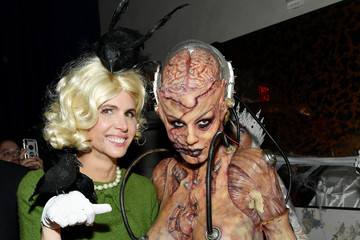 Desiree Gruber Heidi Klum's 20th Annual Halloween Party - Arrivals