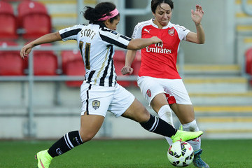 Desiree Scott Arsenal Ladies FC v Notts County Ladies: WSL Continental Cup Final