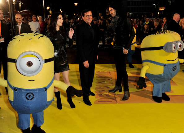 Cartoon Characters Yellow : Minions cartoon characters come to life on the red
