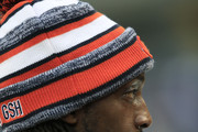 Charles Tillman #33 of the Chicago Bears on the field before their game against the Detroit Lions at Soldier Field on December 21, 2014 in Chicago, Illinois.