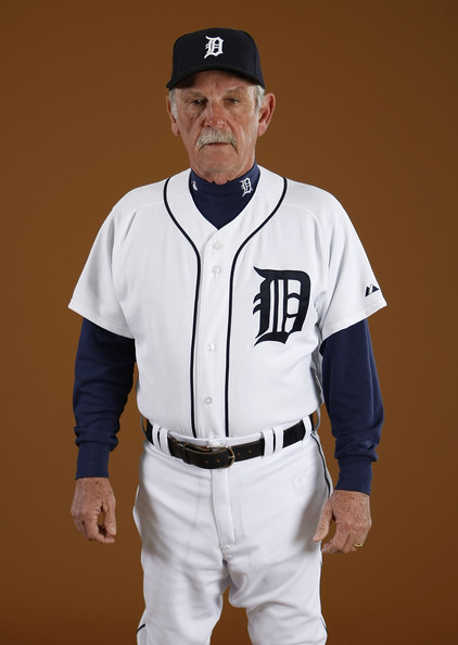 Manager Jim Leyland of the Detroit Tigers poses during photo day at the Detroit Tigers Spring Training facility on February 27, 2010 in Lakeland, Florida.