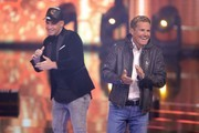 Dieter Bohlen and Pietro Lombardi Photos Photo