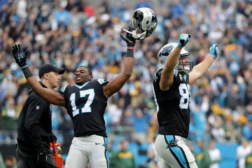 Devin Funchess Green Bay Packers vCarolina Panthers