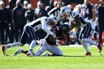 Devin McCourty New England Patriots vs. Chicago Bears