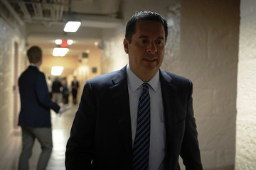 Devin Nunes House Republicans Hold Closed Conference Meeting On Immigration