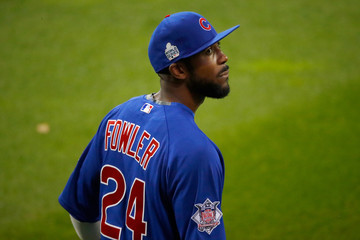 Dexter Fowler World Series - Chicago Cubs v Cleveland Indians - Game Six