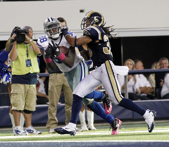 Dez Bryant and Josh Gordy - St. Louis Rams v Dallas Cowboys