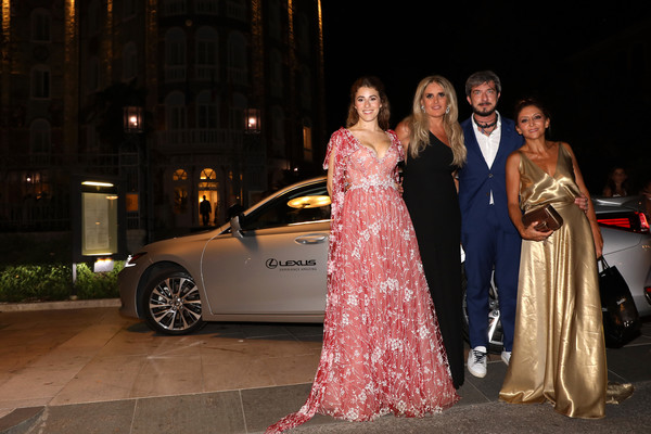 Lexus At The Filming In Italy After Party Arrivals - The 76th Venice Film Festival