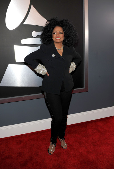 Diana Ross Singer Diana Ross arrives at the 54th Annual GRAMMY Awards held at Staples Center on February 12, 2012 in Los Angeles, California.