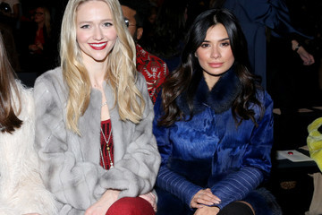 Diane Guerrero Dennis Basso - Front Row - February 2017 - New York Fashion Week: The Shows