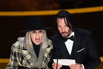 Diane Keaton Keanu Reeves 2020 Getty Entertainment - Social Ready Content