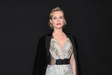 Diane Kruger Giorgio Armani Prive: Front Row - Paris Fashion Week - Haute Couture Spring Summer 2018
