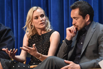 Diane Kruger Demian Bichir 'The Bridge' Presentation at the Paley Center