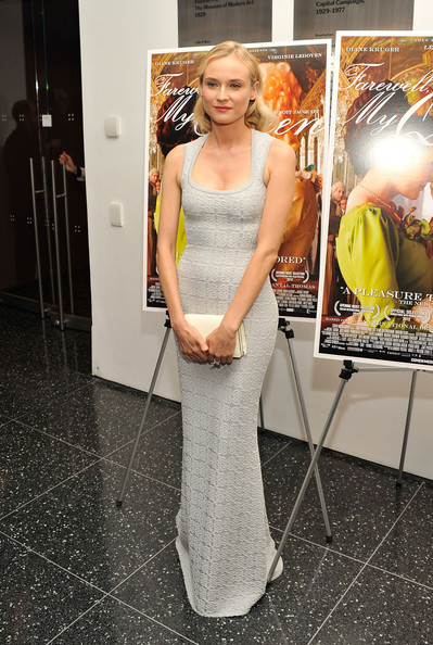 "Diane Kruger - ""Farewell, My Queen"" New York Screening"