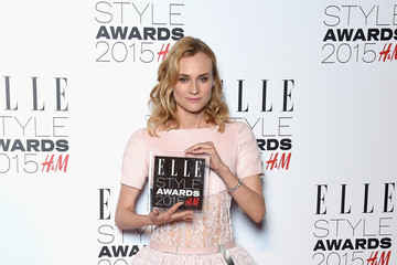 Diane Kruger Elle Style Awards 2015 - Winners Room
