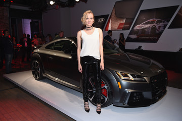 Diane Kruger Audi Sport Unveils New Model Ahead of New York International Auto Show