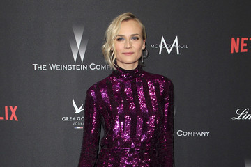 Diane Kruger The Weinstein Company and Netflix Golden Globe Party, Presented With FIJI Water, Grey Goose Vodka, Lindt Chocolate, and Moroccanoil - Red Carpet