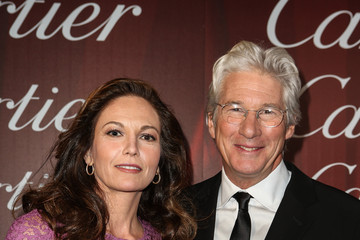 Diane Lane Richard Gere Mercedes-Benz Arrivals At The Palm Springs International Film Festival