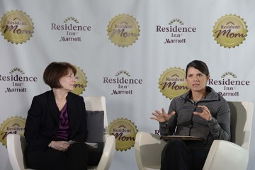 Diane Mayer Mia Hamm Named Residence Inn's Resident Mom