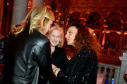 Karlie Kloss, U.S. Senator Kirsten Gillibrand and Diane von Furstenberg attend the DVF 2020 Awards at the Library of Congress on February 19, 2020 in Washington, DC.