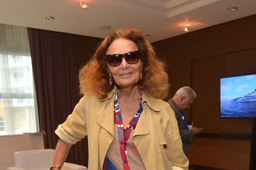 Diane von Furstenberg The New York Times International Luxury Conference: Day 2