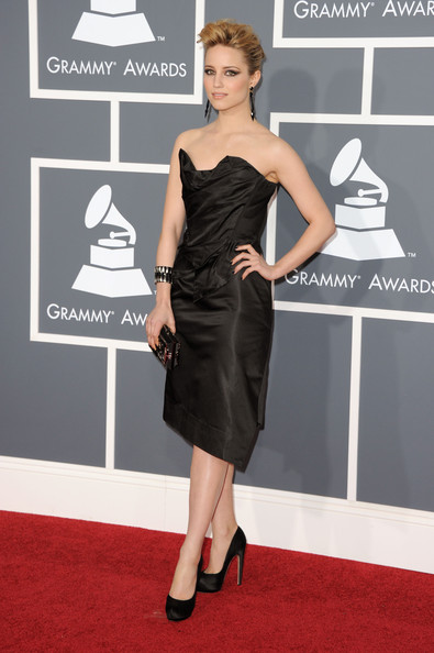 Dianna Agron Actress Dianna Agron arrives at The 53rd Annual GRAMMY Awards held at Staples Center on February 13, 2011 in Los Angeles, California.