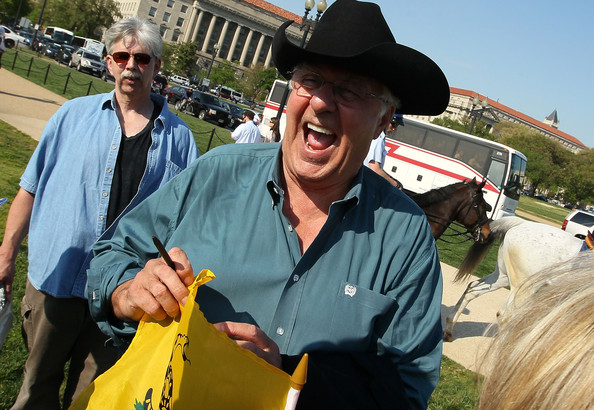 Obama Supporters Hold Counter-Rally To Tea Partiers