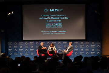 Dick Wolf The Paley Center For Media Presents: Creating Great Characters: Dick Wolf And Mariska Hargitay - Panel