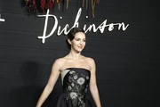 """Ella Hunt attends """"Dickinson"""" New York Premiere at St. Ann's Warehouse on October 17, 2019 in New York City."""