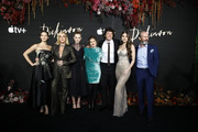 "(L_R) Ella Hunt, Jane Krakowski, Anna Baryshnikov, Alena Smith, Adrian Blake Enscoe, Hailee Steinfeld and Toby Huss attend ""Dickinson"" New York Premiere at St. Ann's Warehouse on October 17, 2019 in New York City."