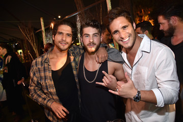 Diego Boneta Hugh Hefner Hosts Annual Midsummer Night's Dream Party at The Playboy Mansion