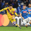 Diego Demme SSC Napoli v FC Barcelona - UEFA Champions League Round of 16: First Leg