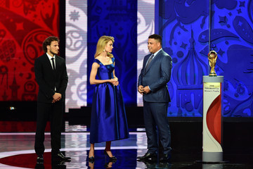 Diego Forlan Preliminary Draw of the 2018 FIFA World Cup in Russia