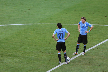 Diego Forlan Uruguay v Costa Rica: Group D - 2014 FIFA World Cup Brazil