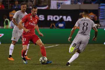 Diego Perotti Real Madrid v AS Roma - International Champions Cup 2018
