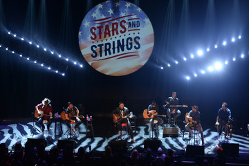 Dierks Bentley Musicians Perform At The Stars And Strings Concert