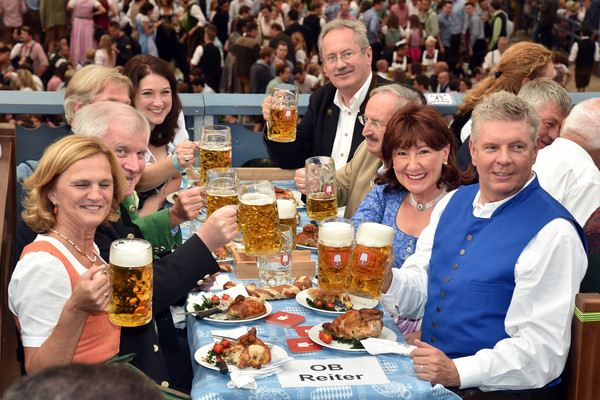 Celebrities Hang out at Oktoberfest 2015 - Day 1